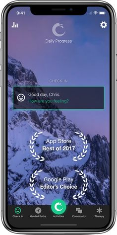 Pacifica Mobile App: Reduce stress. Feel happier. Daily tools for stress, anxiety, and depression alongside a supportive community. Based on cognitive behavioral therapy & mindfulness meditation.