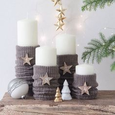 Advent wreath-just-out-candles - interior design ideas - adventskranz-only cand. Advent wreath-just-out-candles – interior design ideas – adventskranz-only candles off – Simple Christmas, Christmas Time, Christmas Crafts, Xmas, Christmas Ornaments, Holiday, Christmas Wreaths, Diy Christmas Decorations Easy, Christmas Candle Holders