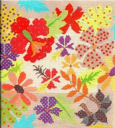 Needle Deeva needlepoint design from The Bristly Thistle.