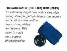 history of phthalo blue