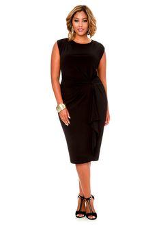 700f3aa87eda Grommet Sheath Linen Dress in 2019   My Style   Dresses, Linen dresses, Plus  size dresses