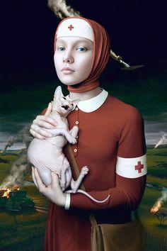 Humanity Project by Alex Sovertkov, via Behance