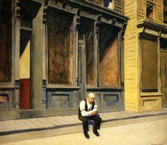 Edward Hopper:  Sunday (1926)