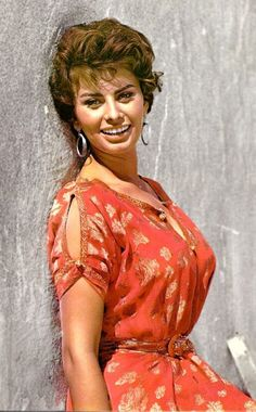 Sophia Loren; VOLUPTOUS, SO BEAUTIFUL, LOVELY LADY