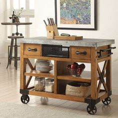 ACME Furniture Kailey Kitchen Cart