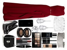 """""""nice"""" by anja-104 on Polyvore featuring Elie Saab, Giuseppe Zanotti, Chloé, Maybelline, NARS Cosmetics, Max Factor, Anastasia Beverly Hills, Guerlain, Nails Inc. and Robert Piguet"""