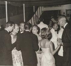 Dinner on Aristotle Onassis' yacht, from Rare Vintage: La Dolce Vita