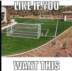 We have actually done this in the yard before....smaller but still fun