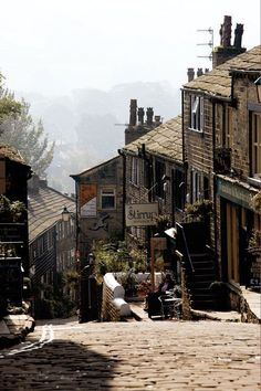 Haworth, England, home of the Brontes