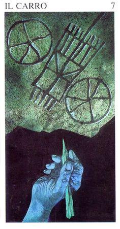 Sergio Toppi. Tarot of the Origins