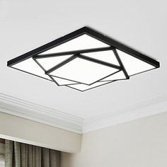 LED ceiling lamp Creative Arts bedroom modern minimalist living room lamp lighting fixtures kitchen balcony