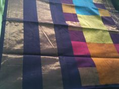 silk by cotton whith jari saree Saree, Quilts, Silk, Blanket, Classic, Cotton, Derby, Sari, Quilt Sets