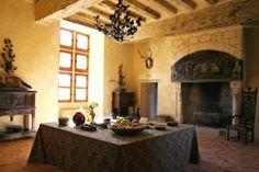 salle balthazar au Château du Rivau