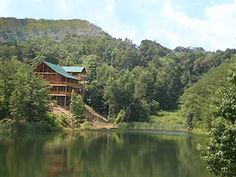 Bear Lake Lodge is a GORGEOUS cabin in the Smokies! Just look at this picture... Need we say more?
