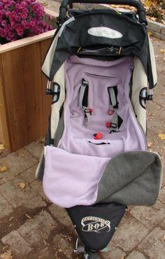 Stroller or Car Seat Bundle Bag PDF Sewing Pattern  Two Sizes