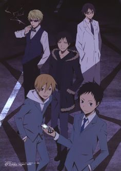 Durarara!! started season 1... this show started out kinda wierd but was good once I watched it each week