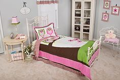 Pam Grace Creations Twin Bedding Set Sweet Dream Owls -- You can get additional details at the image link.