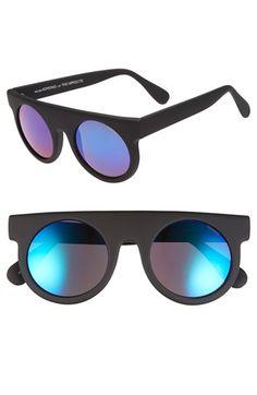 Men's Komono 'The Hippolyte' 50mm Sunglasses - Black