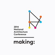 Logo designed by Garbett for the Australian Institute of Architects' 2014 conference Making. Featured on bpando.org