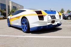 Lamborghini Gallardo Transformer Style 2
