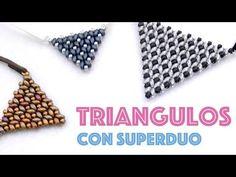 PENDIENTES Y COLGANTE DE ARBOITOS DE NAVIDAD CON SUPERDUO - YouTube