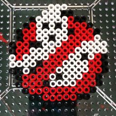 Ghostbusters perler beads by the_nerdy_girl_crafter