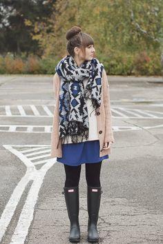 Maddinka - blog modowy : Pink and blue.