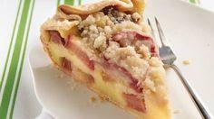 Country Rhubarb Crostata
