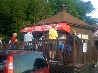 Local ice cream stands