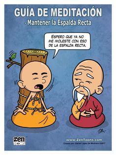 AFICHE ZENTOONS 07. Guía de Meditación. #zentoons #webcomics #zencomics #cuentoszen #historiaszen #zenpencil #espiritualidad #zen #budismo