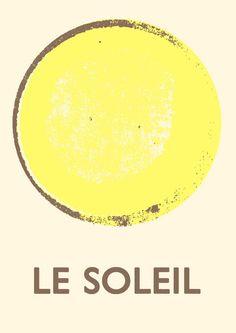 Le Soleil (Yellow) print - Double Merrick