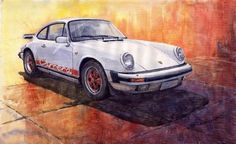 Porsche 911 Carrera Poster By Yuriy Shevchuk