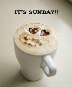 Happy sunday coffee