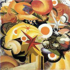 Julius Evola (1898 - 1974)    Dada   Mazzo di fiori - 1918