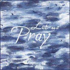 Let us Pray. 6 x 6 acrylic on gallery wrapped canvas. © 2016 Sheila Delgado