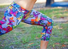 Kesh&Bai Butterfly Yoga Leggings