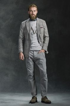 Brunello Cucinelli, Look #1