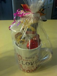Avon sss gift basket my gift baskets pinterest avon gift and coffee mug negle Image collections