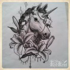 tatuagem unicornio - Pesquisa Google