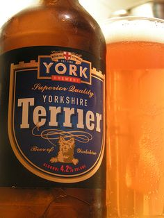 Yorkshire Terrier beer - from York Brewery