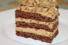 Karamellás szelet | Sütivár Izu, Vanilla Cake, Tiramisu, Ethnic Recipes, Food, Caramel, Essen, Meals, Tiramisu Cake