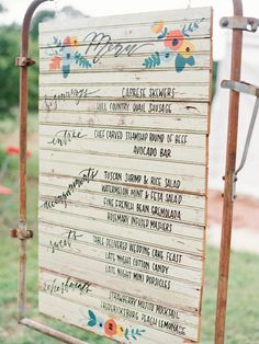 handwritten wedding