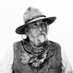 A man from the prairie.