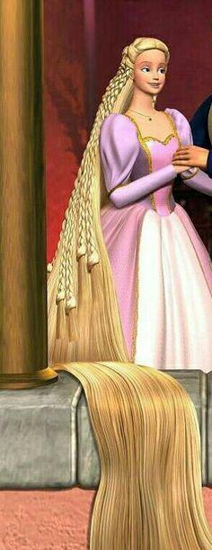 #Barbie als Rapunzel