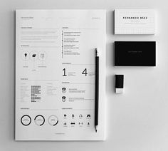 Free Resume Templates | Abduzeedo Design Inspiration