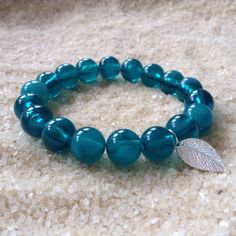 New in: Mermaid beads! Gorgeous beaded bracelets complete with a cute silver charm. These ocean inspired bracelets are in limited supply so get yours while you can!