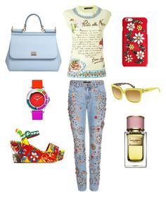 """""""Dolcemania"""" by anastasiia-loparevich on Polyvore featuring мода, Dolce&Gabbana и Versus"""