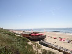 Strand in Zoutelande - Holland