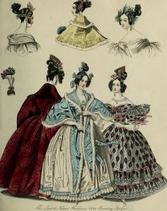 The World of fashion and continental feuilletons feb 1836