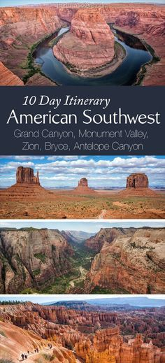 10 Days in the American Southwest: The Ultimate Road Trip - American Southwest 10 day Road Trip Itinerary: Grand Canyon, Zion, Bryce, Grand-Staircase Escalante - Grand Canyon Arizona, Bryce Canyon, Trip To Grand Canyon, Slot Canyon, Arizona Road Trip, Road Trip Usa, Brisbane, Perth, Bon Voyage
